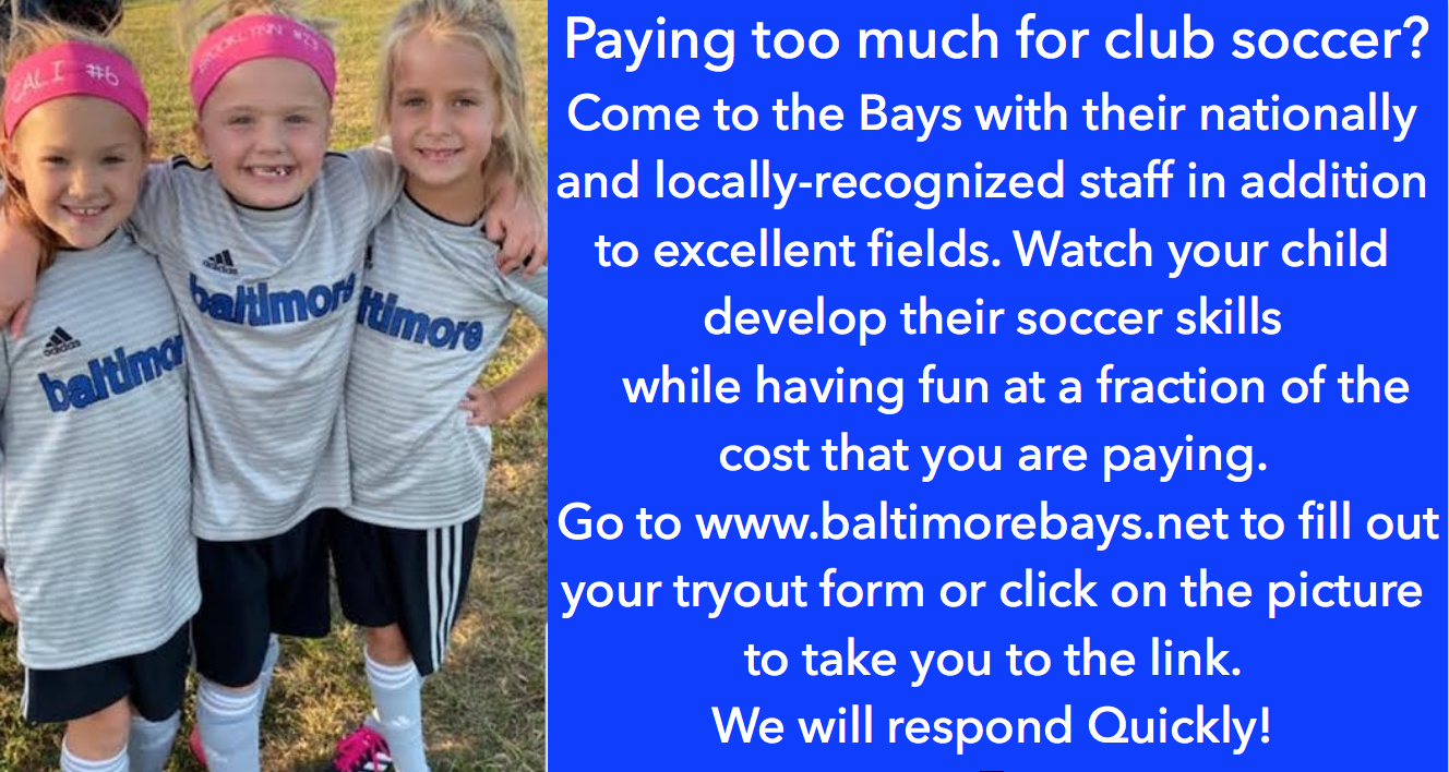 Bays announce Fall 2021/Spring 2022 Tryout Schedules