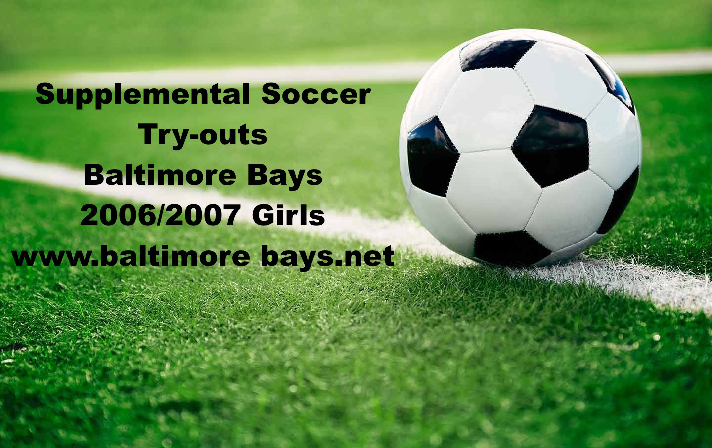 Supplemental Tryouts Bays 2006/2007 Girls