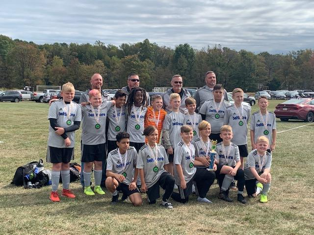 Bays Outkast, U-13 Boys, go undefeated at the Columbus Soccer Classic
