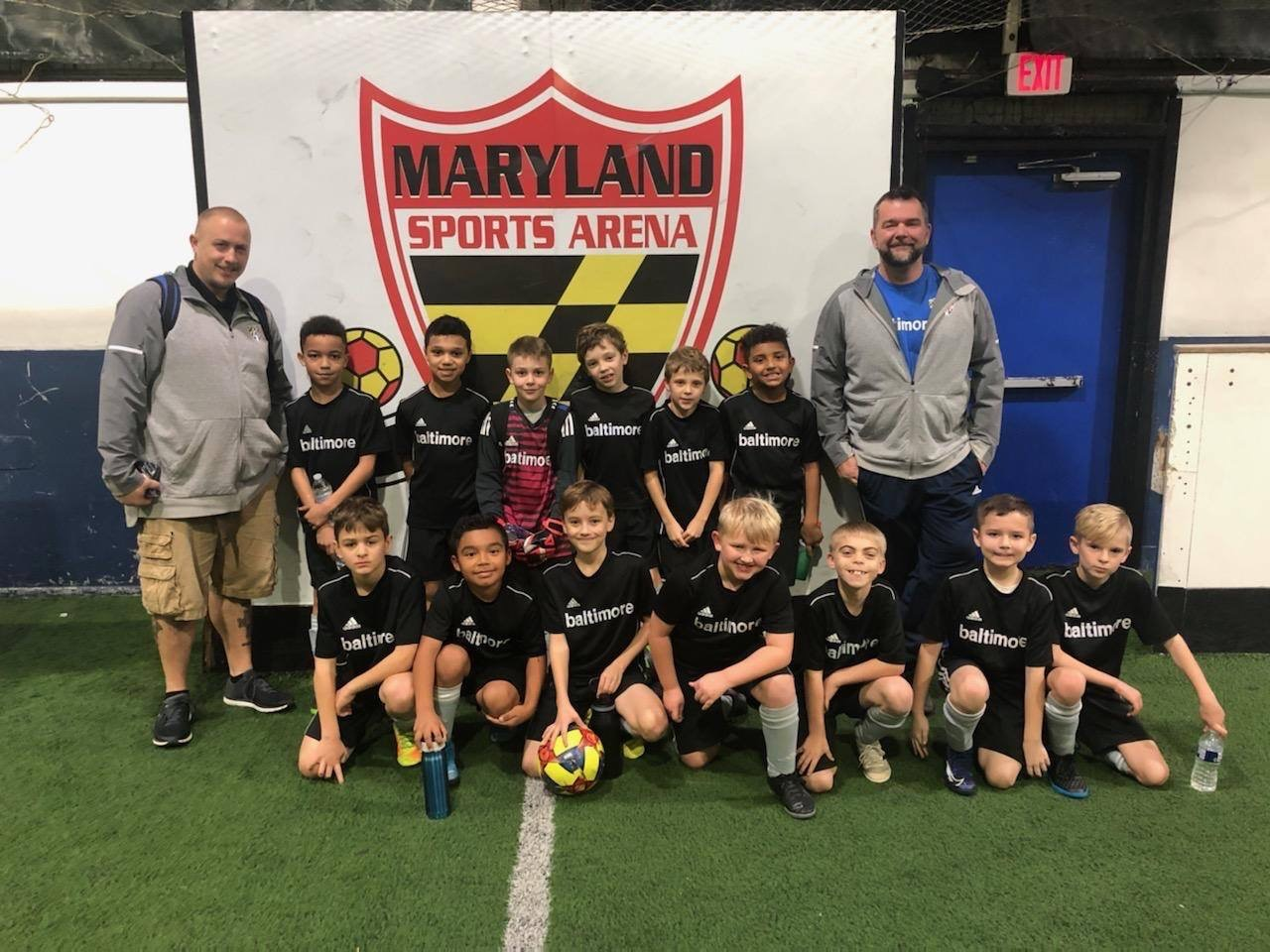 Bays Rebels, U-10 Boys, Finish Indoor Finalists