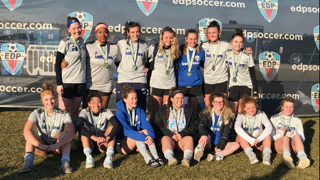 2000 Pride ladies finish Finalists at the EDP Spring Classic