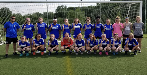 Bays Pride U18 Girls have undefeated Spring EDP Season